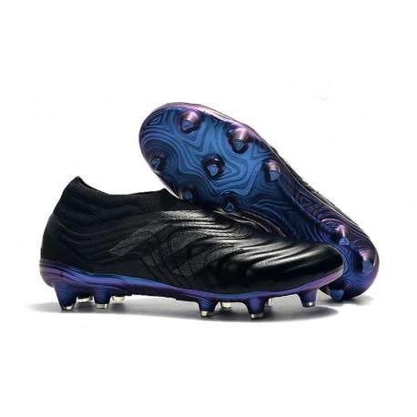 Chaussures Nouveaux adidas Copa 19+ FG Noir Bleu