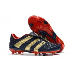 Chaussures adidas Predator Accelerator FG - Cyan Rouge Or