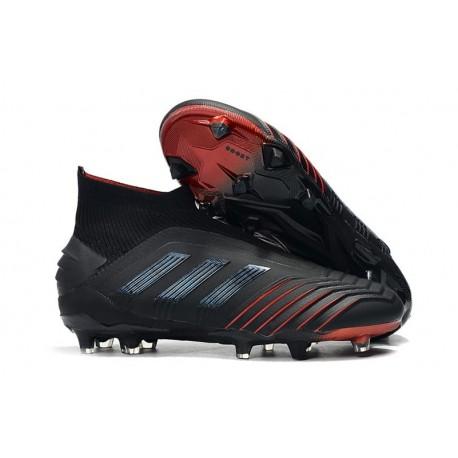adidas Archetic Crampons de Foot Predator 19+ FG Noir Rouge