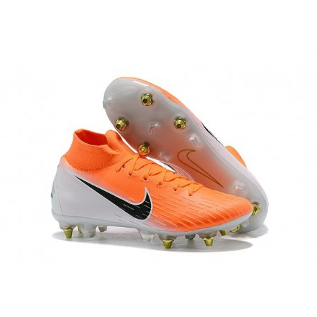 Nike Mercurial Superfly 360 Elite SG-PRO AC - Orange Blanc