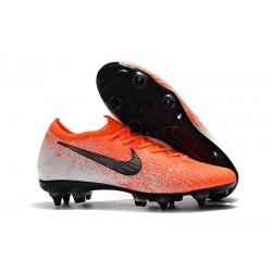 Nike Mercurial Vapor XII Elite FG Crampons de Football - Orange Noir