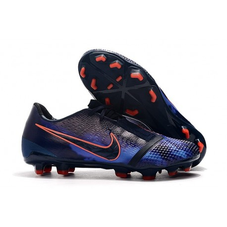 Chaussures Nouvelle Nike Phantom Venom Elite FG Obsidienne Bleu Noir
