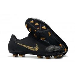 Chaussures Nouvelle Nike Phantom Venom Elite FG Noir Or
