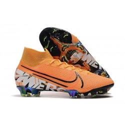 Nike Mercurial Superfly VII Elite 360 FG Orange Noir