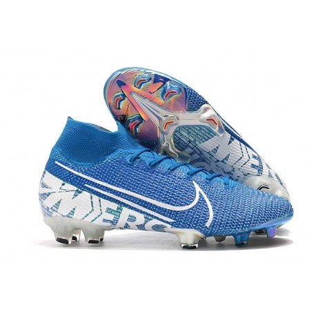 Nike Mercurial Superfly VII Elite 360 FG New Lights Bleu