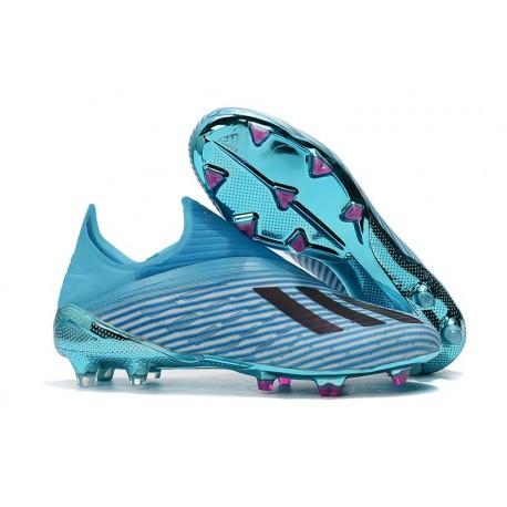 Chaussures de football adidas X Terrain Sec Bleu Noir
