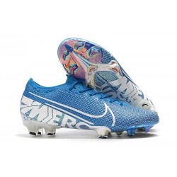 Chaussures Nike Mercurial Vapor 13 Elite FG New Lights Bleu