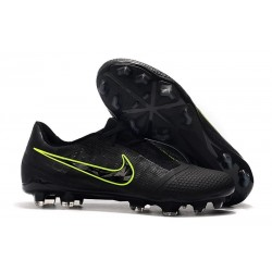 Chaussures Nouvelle Nike Phantom Venom Elite FG Noir Volt