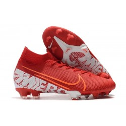 Nike Mercurial Superfly VII Elite 360 FG Rouge Blanc
