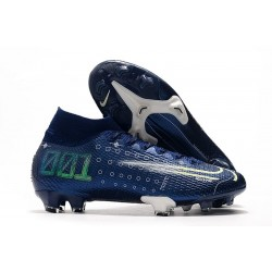Nike Dream Speed Mercurial Superfly VII Elite 360 FG Bleu